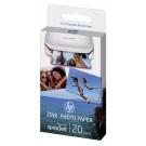 Fotopapier HP ZINK Voor Sprocket 5x7.6cm Zelfklevend 290gr pk