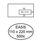 Envelop Hermes Venster Ea5/6 Vr V10 4x11 80gr Zk Wit