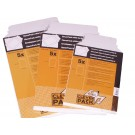 Envelop CleverPack A5 176x250mm karton wit pak 5 stuks