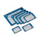 Alfabetkaarten plastic 80mmx130mm (1 AZ); pkj