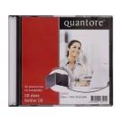 CD/DVD slimline opbergdoos Quantore pk a 25 st