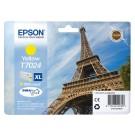 Inktcartridge Epson T70244010 geel HC