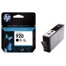 Inktcartridge HP CD971A (920) zwart; 10ml