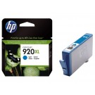 Inktcartridge HP CD972A (920XL) blauw; 6ml
