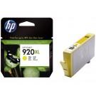 Inktcartridge HP CD974A (920XL) geel; 6ml