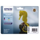 Inkcartridge Epson T048740 Zwart 5 Kleuren