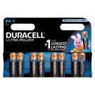 Batterij Duracell AA Ultra Power Alkaline 8-Pack