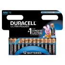Batterij Duracell AAA Ultra Power Alkaline 12-Pack
