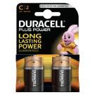Batterij Duracell C Plus Power 50% Alkaline