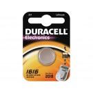 Batterij Duracell 1616 Lithium