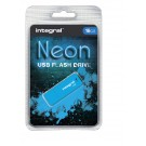 USB-stick USB 2.0 Integral 16GB Neon blauw