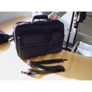 "Notebooktas Quantore tot 17"" 32x38cm zwart nylon"
