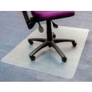 Stoelmat Floortex Pvc 120x150cm Tapijtvloer