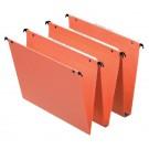 Hangmap Esselte Orgarex dual verticaal oranje; doos 25 stuks