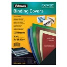 Voorblad Fellowes A4 Lederlook Zwart; pak 100st