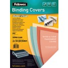 Voorblad Fellowes A4 PVC 200my transparant; ds 100