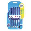 Balpen Papermate Flexgrip Medium Blauw bl.