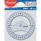 Kompasroos Maped 120mm Polystyrol Transparant 360gr