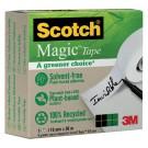 Plakband 3M Scotch 900 19mmx30m Magic onzichtbaar