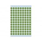 Etiket Herma 1845 Rond 8mm 540st Groen
