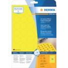 Etiket Herma 8034 30mm 1200st Geel
