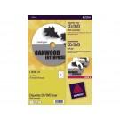 Etiket Avery L7676 CD's 117diam; pkj 25vel mat