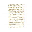 Etiket Herma 4152 Letters A-Z 238st Gd/Transparant