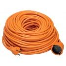 Verlengsnoer 40 Meter Oranje