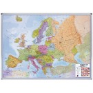 Landkaart Lega Europa 118x101cm magn., wegenkaart