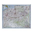 Landkaart Legamaster Belgie 101x121 Beschrijfb/Magn